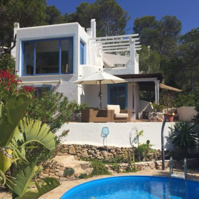 Enchanting house in Cala Molí with fantastic sea views