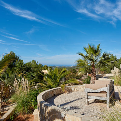 Renovated high quality villa between San José and Cala Tarida with rental license